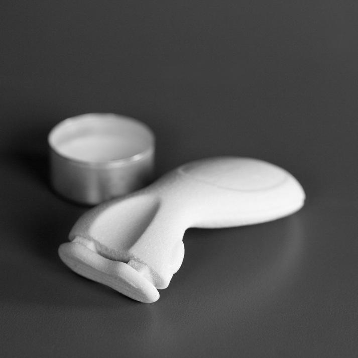 3D print of a razor