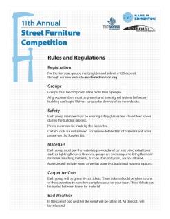 Street Furniture Booklet (2011)