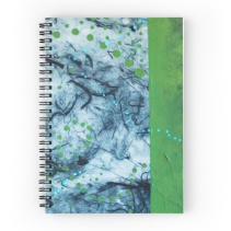 Journal with art print