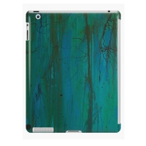 Tablet case with art print