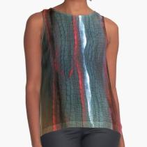 Shirt with an art print