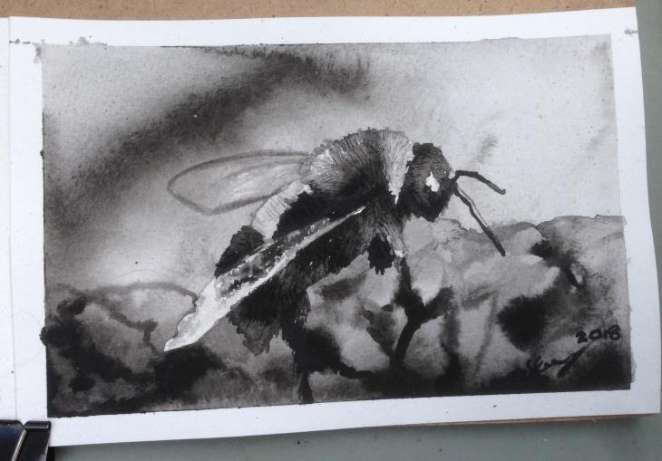Bee at Art Walk 2018