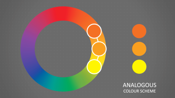 An animation still about colour schemes