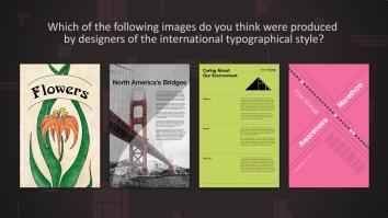 A Quiz in Graphic Design Fundamentals about design history